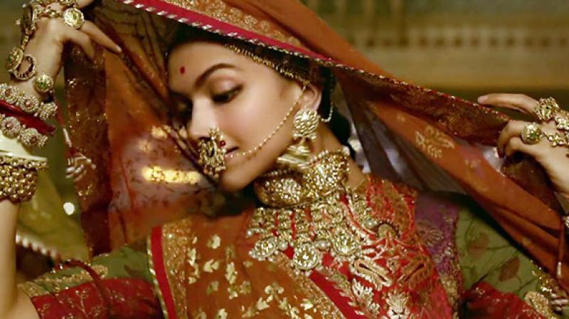 Deepika Padukone in a still from 'Padmavati'.