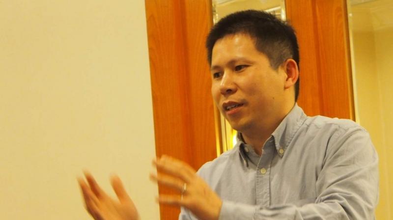 Xu Zhiyong has asked for Xi Jinping to step down. (Twitter: Amnesty)