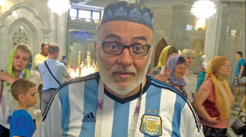 Cesar Horacio, an Argentine fan.