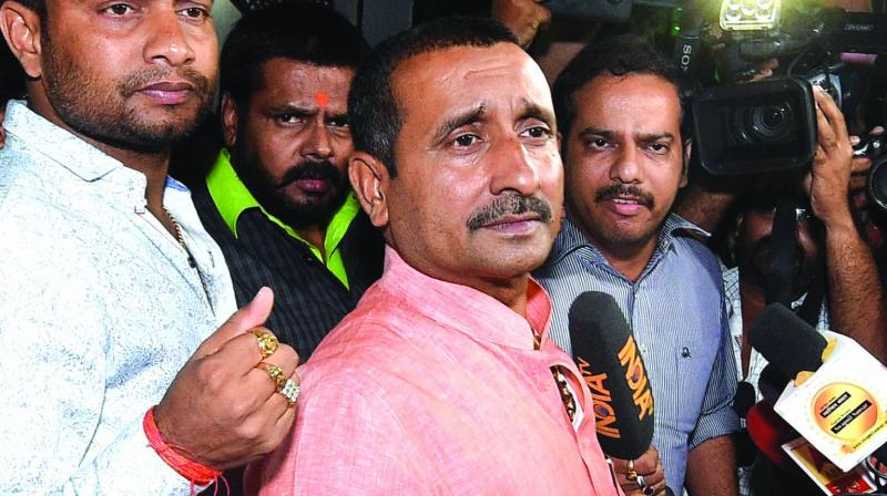 Sengar, a four-time BJP MLA from UP's Bangermau, was expelled from the BJP in August 2019. (Photo: File)