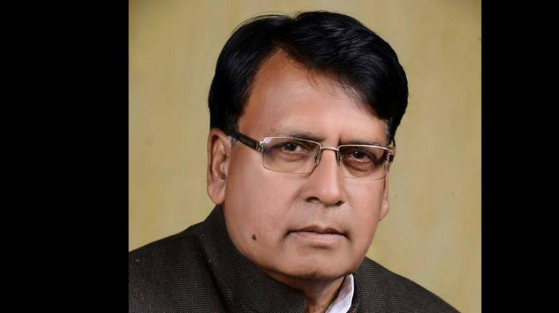 State law minister PC Sharma