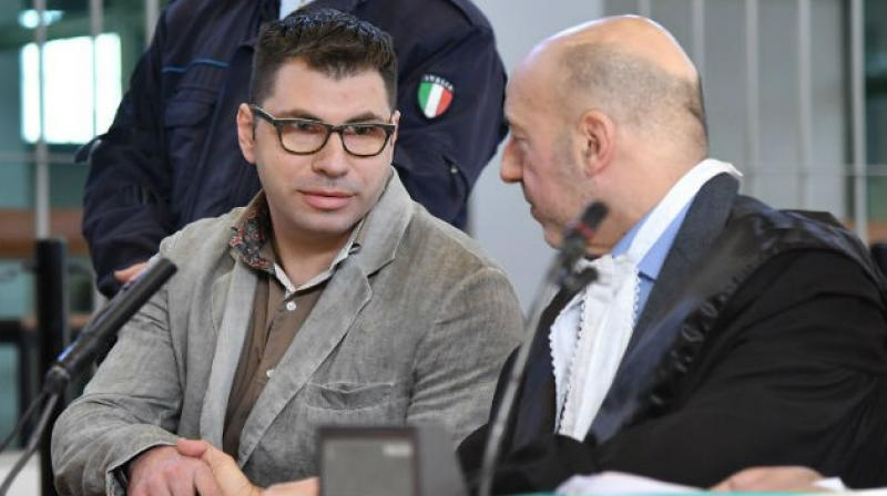 Valentino Talluto often found an excuse not to wear a condom, telling his partners that he was allergic to them, or had just had an HIV test, the court in Rome heard. (Photo: AFP)