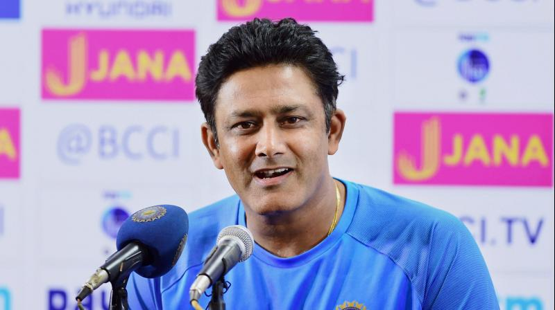 Kumble's tally of 619 Test wickets is the most by an Indian bowler. (Photo: PTI)