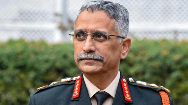 Army Chief Gen Manoj Mukund Naravane on Tuesday said India reserves the right to 'preemptively strike; at sources of terror. (Photo: File)