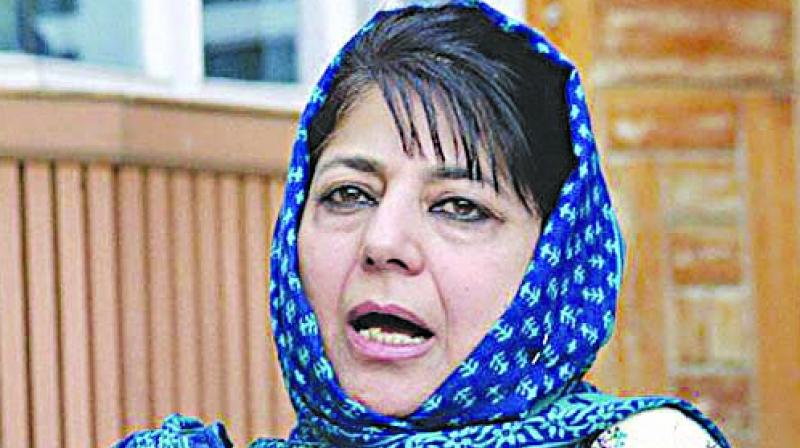 'Don't know why PM Modi must stoop so low & reduce political discourse to this.' Mufti said. (Photo: File)