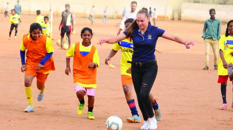 She has been a part of many tournaments such as the COTIF Women's Football Tournament.