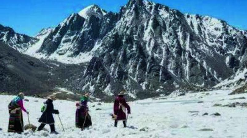 "The Chinese protest reportedly originates from ""territorial sensitivity"" on the matter as the ""actual site of Kailash Mansarovar is located in Tibet, which is part of China, and is recognised by India as such. (Photo: File)"