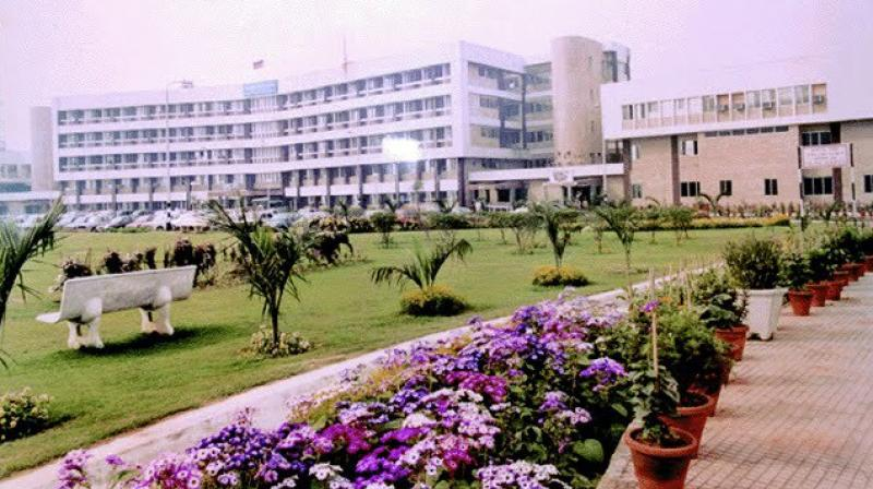 The Army Research and Referral Hospital near New Delhi. (Photo: Facebook)