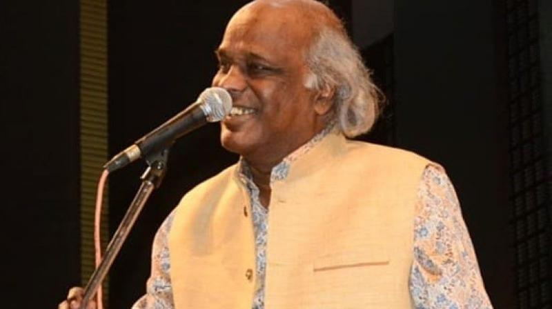 Rahat Indori was five years old when the much loved poet Majaz died of a stroke after he was found on the freezing terrace of a country liquor shop in Lucknow's Qaisar Bagh. Photo: Twitter