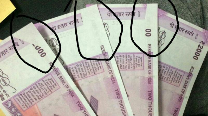 The notes have been running into controversies ever since demonetisation (Photo: Twitter)