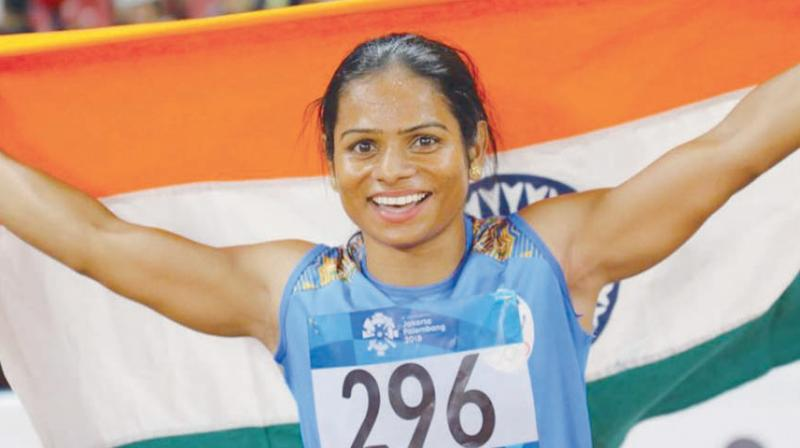 Dutee Chand bags 100m gold in World Universiade, creates history