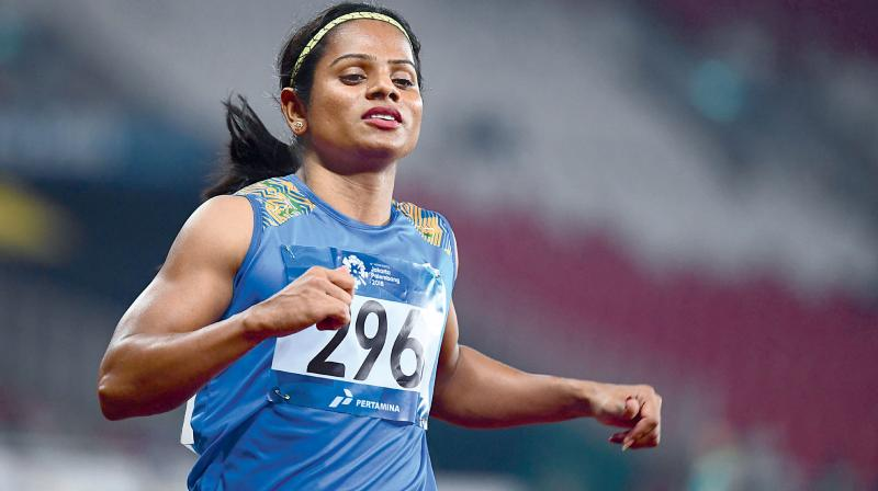 Indian sprinter Dutee Chand will get custom-made gear in her bid to qualify for next year's Tokyo Olympics after signing a two-year deal with Puma. (Photo: AFP)