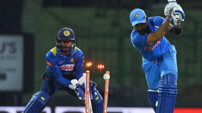 Ahead of the upcoming T20I match between India and Sri Lanka in Guwahati, Assam Cricket Association (ACA) secretary Devajit Saikia on Friday said that the match would prove as a curtain-raiser for this year's Indian Premier League (IPL). (Photo:AFP)