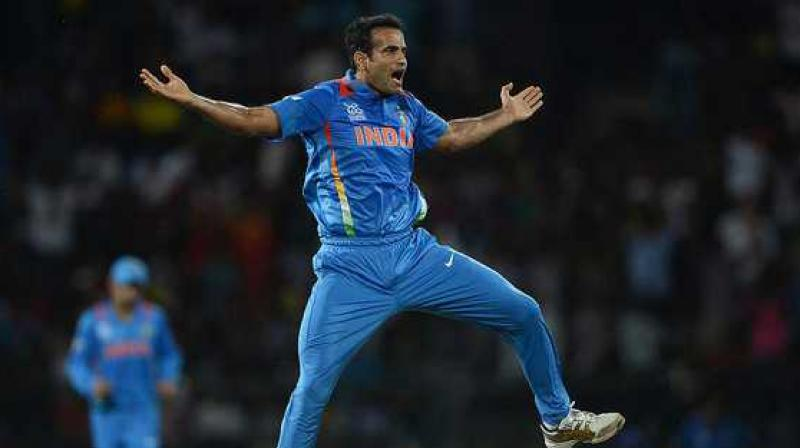 India's 2007 T-20 World Cup hero, Irfan Pathan on Saturday announced his retirement from all forms of cricket. (Photo:AFP)