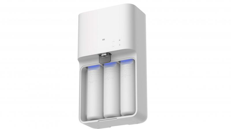 The Mi Smart Water Purifier is an exercise in stark simplicity -- inside and outside.