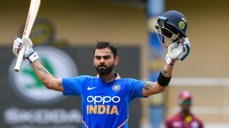 It was my chance to step up and take responsibility', says Virat Kohli