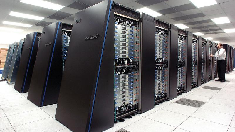 Unlike this IBM Supercomputer, the Folding@Home project is powered by people's desktops, laptops and even PlayStation consoles, as well as more powerful business computers and servers. (Photo | Wikimedia Commons)