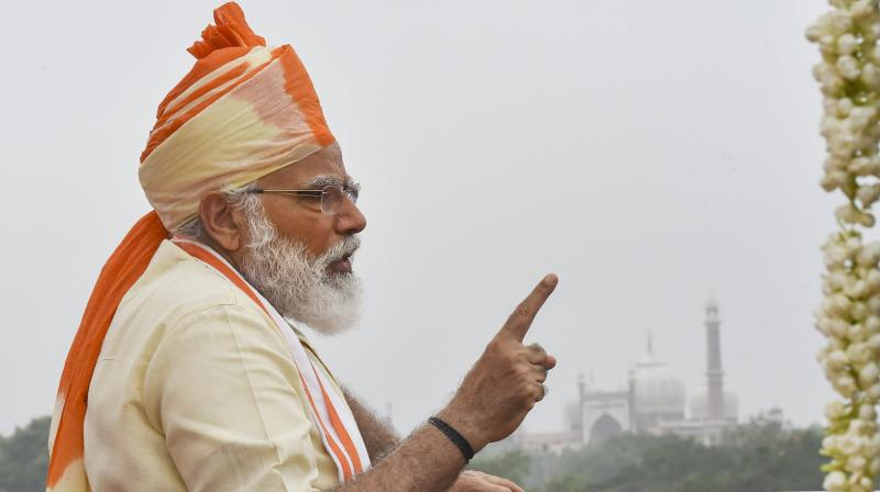 Is Narendra Modi's long beard the result of a 'mannat'? (PTI)