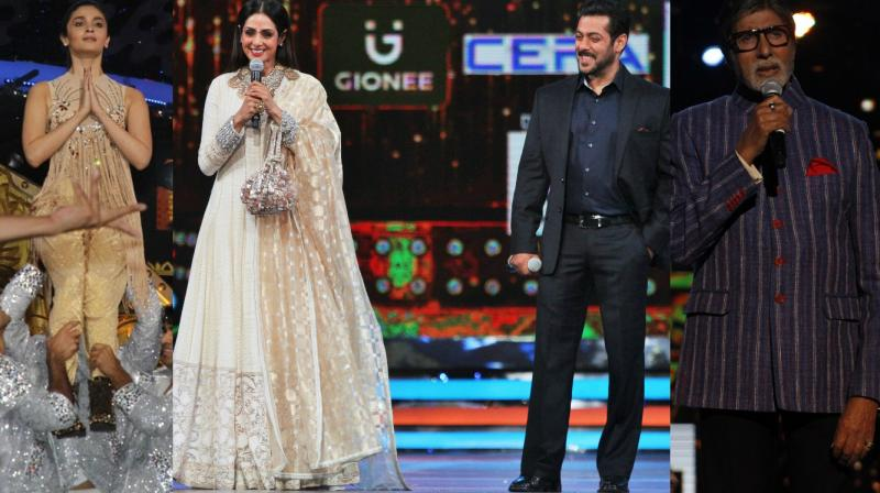 Numerous Bollywood stars made an appearance at the Zee Cine Awards which is set to be telecast on Saturday.