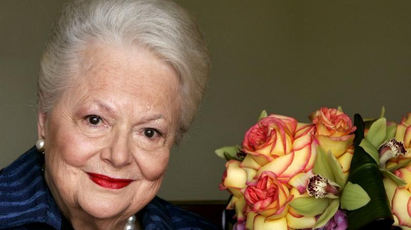 Oscar-winning actress Olivia de Havilland has died, aged 104 in Paris. (AP Photo)