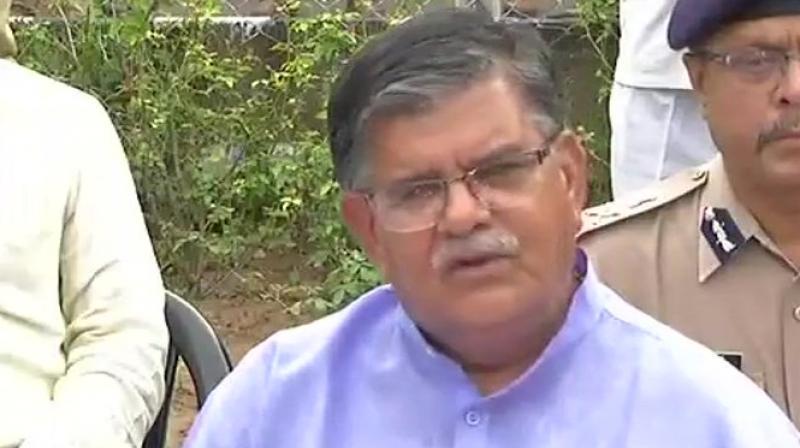 Rajasthan Home Minister Gulab Chand Kataria (Photo: Twitter | ANI)