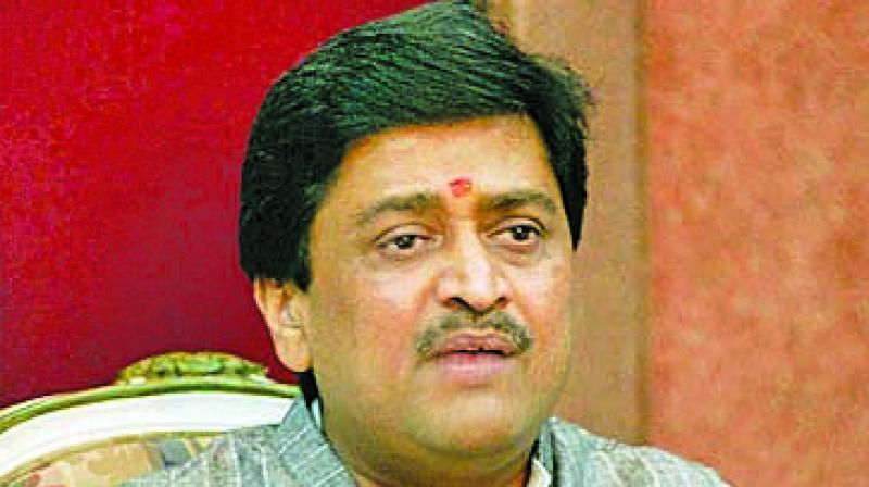 State Congress chief Ashok Chavan