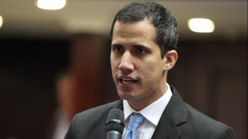 Venezuela's opposition leader Juan Guaido. (Photo: File)