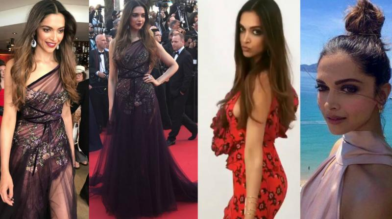 Deepika Padukone made a stunning debut at the Cannes film festival in France on Wednesday and here we capture her best moments from Mumbai to Cannes in pictures.