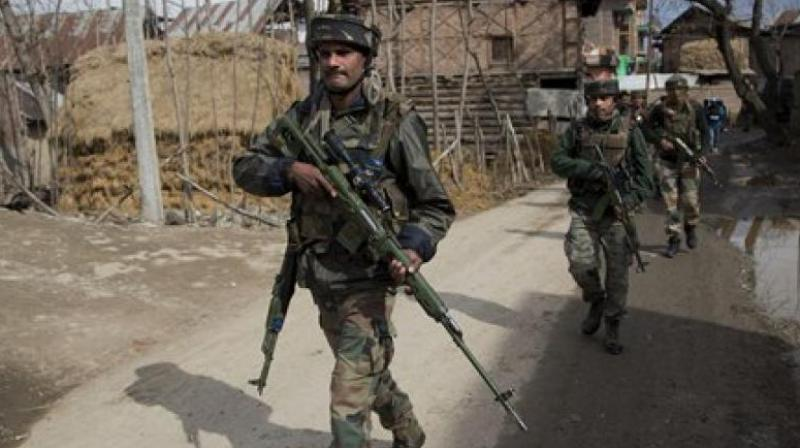 AFSPA empowers the Army to work without any reference to civil authority and provides protection from prosecution to those soldiers who may inadvertently make mistakes in the course of duty.  Photo: Representational/PTI)
