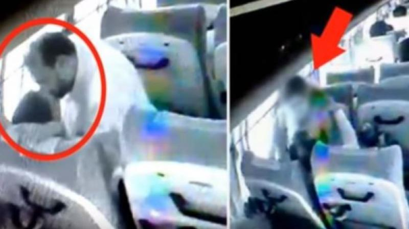 The woman in the video had accused the BJP leader of raping her in the bus. (Youtube: Screengrab)
