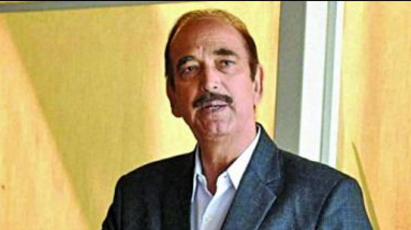 Ghulam Nabi Azad (PTI file photo)