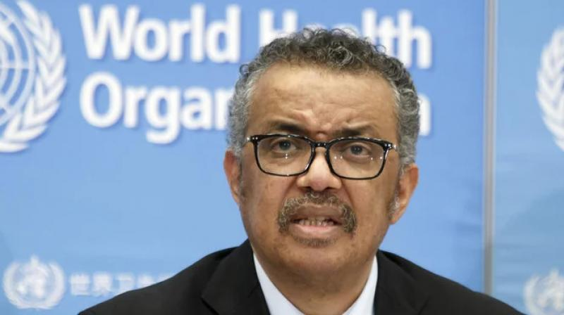 WHO director-general Tedros Adhanom Ghebreyesus. (AP Photo)