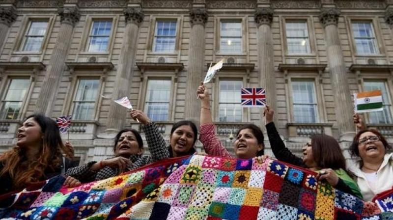 Indians among worst affected minority groups in England. (AFP Photo)
