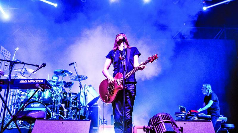 Steven Wilson performing on Day 2. (Photo: Himanshu Rohila)