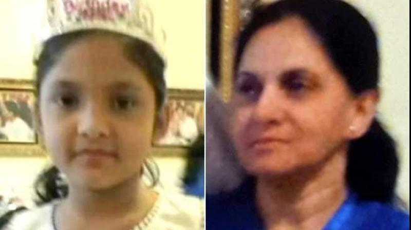 Arjun was convicted for the August 2016 strangulation death of her nine-year-old stepdaughter Ashdeep Kaur, who was left in her care. (Photo: Facebook/ Glenoaksfamily)