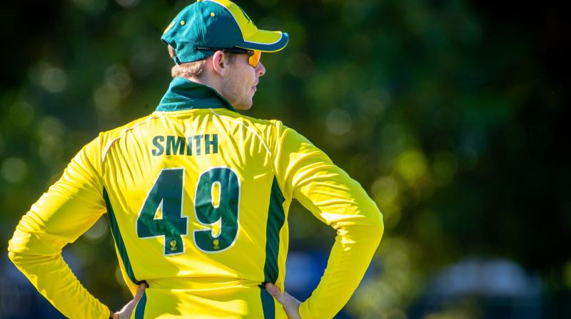 With the likes of Smith, Warner and Mitchell Starc in the line-up, the skipper is confident that they will regain the trophy. (Photo: AFP)