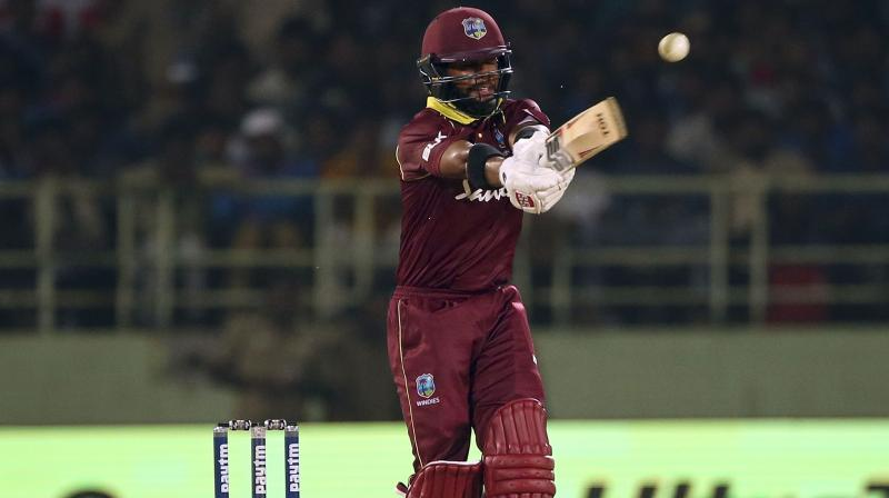 Hope recorded his career-best score of 170 runs in the opening match against Ireland and along with fellow opener John Campbell, he registered the highest ever ODI opening partnership of 365 runs. (Photo: AP)