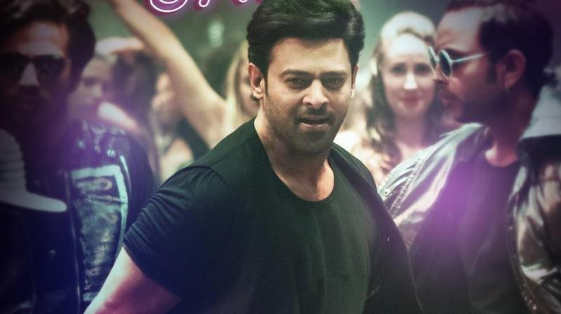 Prabhas in the song.