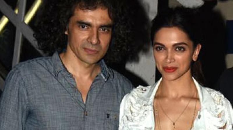 Deepika Padukone with director Imtiaz Ali. (File Photo)