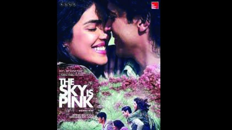 The re-jacketed cover has a still from the film, The Sky is Pink, and a slew of endorsements from celebrities such as Danny Boyle, Deepak Chopra, Shekhar Kapur, Shantanu Moitra, Virginia Holmes and others.