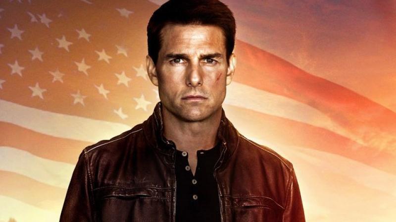 Tom Cruise as Jack Reacher.