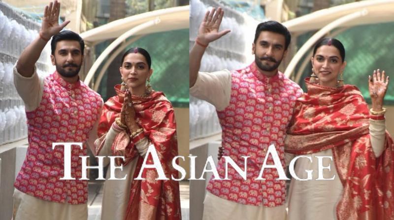 Deepika Padukone and Ranveer Singh. (Pictures: Viral Bhayani)
