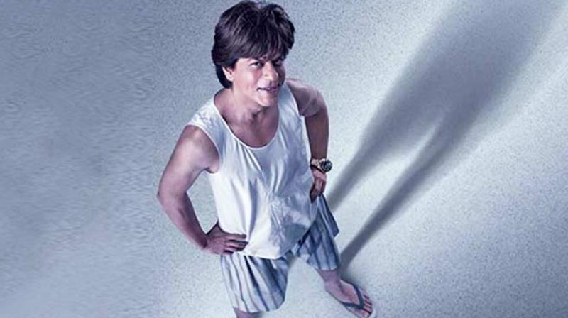 Shah Rukh Khan as Bauua Singh in the upcoming film 'Zero'.