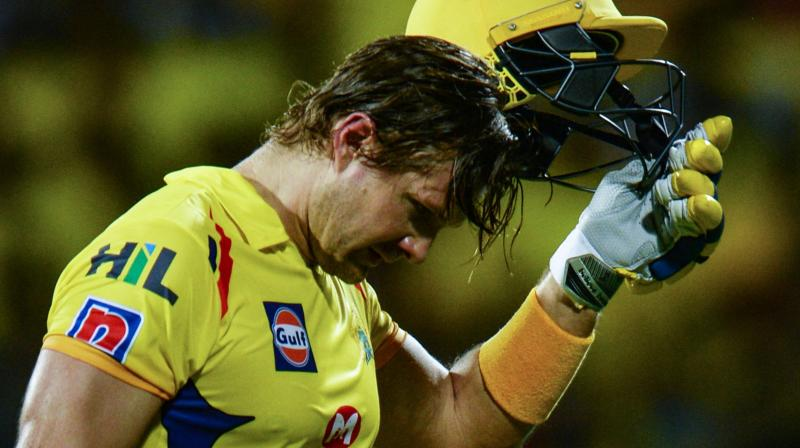 While CSK's must have welcomed Watson's return to form, the team would be hoping for Suresh Raina, Ambati Rayudu and Kedar Jadhav to get going ahead of the knockout phase. (Photo: AFP)