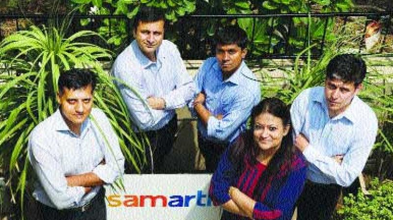 The Samarth team that works closely with care managers to improve the lives of the educated elderly.