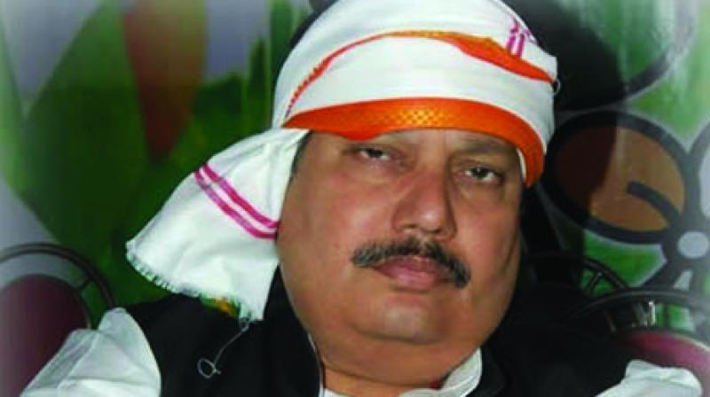 Barrackpore MP Arjun Singh.