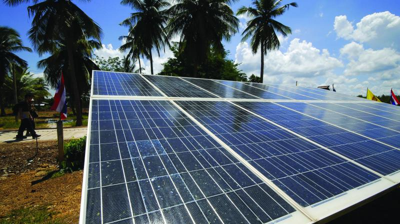 China is  the leading international floating solar market followed by Japan and South Korea.