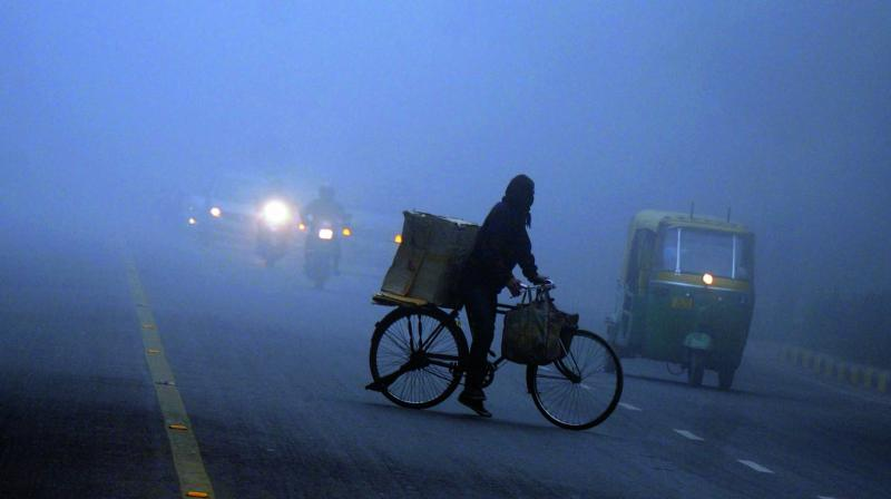 While during fog, visibility is reduced to less than one kilometre, while during mist, it is more than one kilometre.