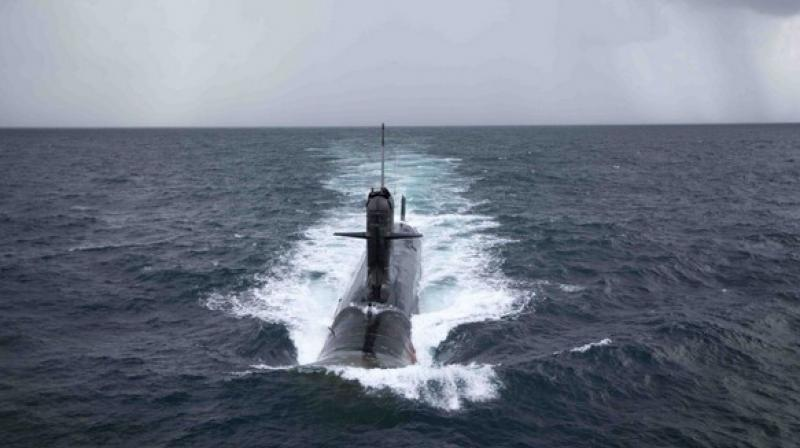 Six Scorpene-class submarines are currently being built under 'Project 75' of the Indian Navy. (Photo: File | Representational)