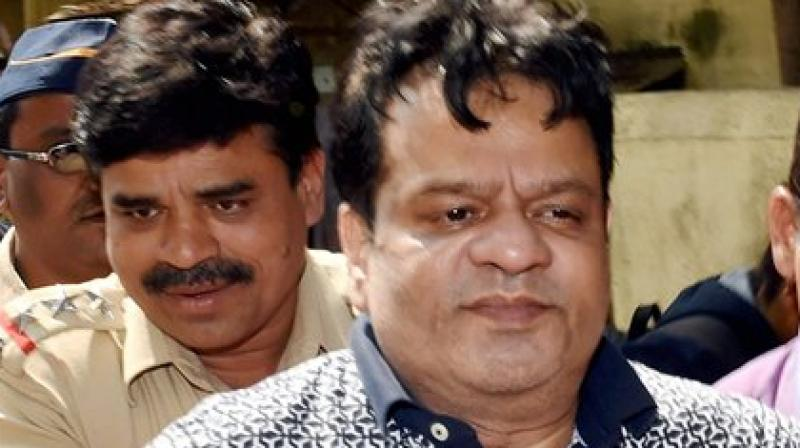 File photo of underworld don Dawood Ibrahim's brother Iqbal Kaskar who was arrested on Monday night by the crime branch of the Thane Police in connection with an investigation into an extortion case. (Photo: PTI)